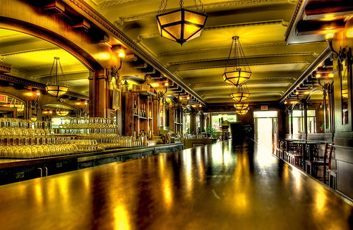 wood canada bar catchycolors gold glasses golden glow edmonton pentax ps explore alberta freehand lamps saloon hdr fortedmontonpark photomatixpro 5xp hotelselkirk k10d pentaxk10d hotelselkirkbar