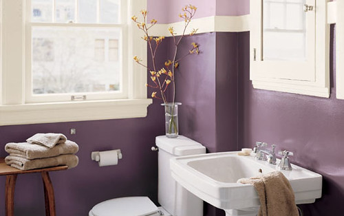 Exellent home design moroccan bathroom design for Lavender bathroom ideas design