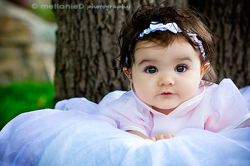 brown eyed baby girl | she was so sweet! | By: Melly.Mell ...