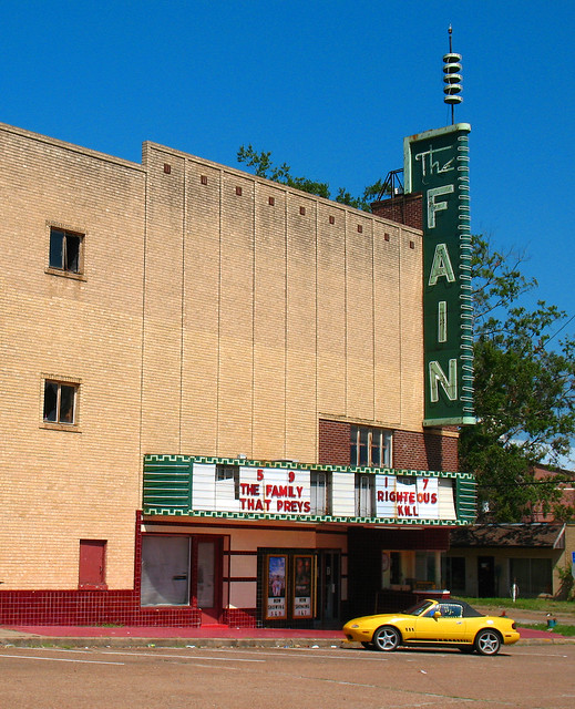 Weather In Livingston Texas : The Fain Theater, Livingston, TX  Flickr - Photo Sharing!