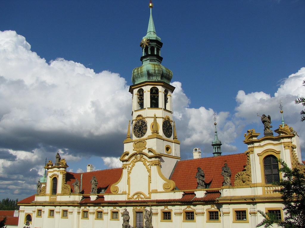 Eglise de Notre Dame de Lorette à Prague - Photo de Bogdan Migulski