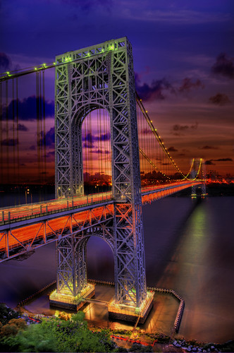 bridge sunrise architechture colorful view place suspension landmark icon stunning hudsonriver sureal gwb fortlee georgewashingtonbridge gwbridge portauthority interstate95 야경 桥 纽约 historicpark 华盛顿 뉴욕 紐約 토니 다리 大桥 건축 브리지 맨하탄 워싱턴 ньюйорк ニューヨークシティ 뉴욕시 조지 thànhphốnewyork न्यूयॉर्कशहर 哈得逊河 乔治 مدينةنيويورك นิวยอร์กซิตี้ 현수교 서스펜션