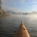 Paddling into more mist