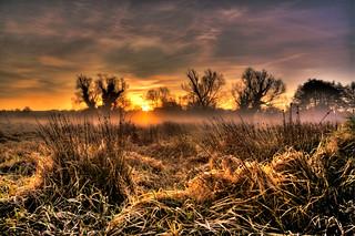 Sunrise, Castle Acre Water Meadows