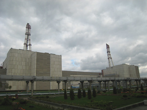 Nuclear Power Plant Ignalina in Lithuania