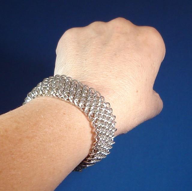Buy Silver Chainmail Rings Uk