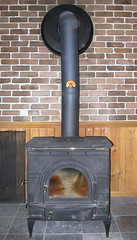 wood, wood-burning stove, hearth,