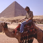 Me on camel, Giza, Egypt 1979