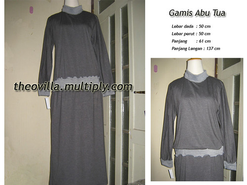 Gamis Abu Tua - IDR 140rb
