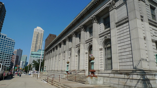 Downtown Jersey City Post Office Flickr Photo Sharing