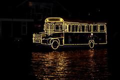 schoolbus on water