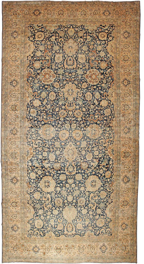 RUG PATTERNS - BLUE FLOKATI RUG