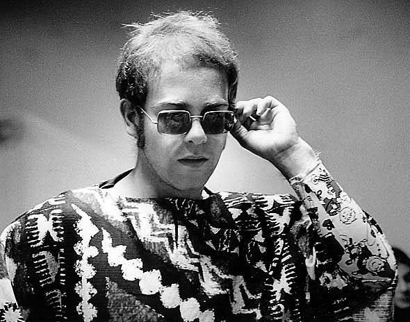 Elton John   Civic Auditorium San Francisco May 5, 1971   sheet 866