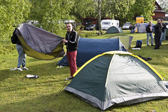 play, leisure, tent, camping,