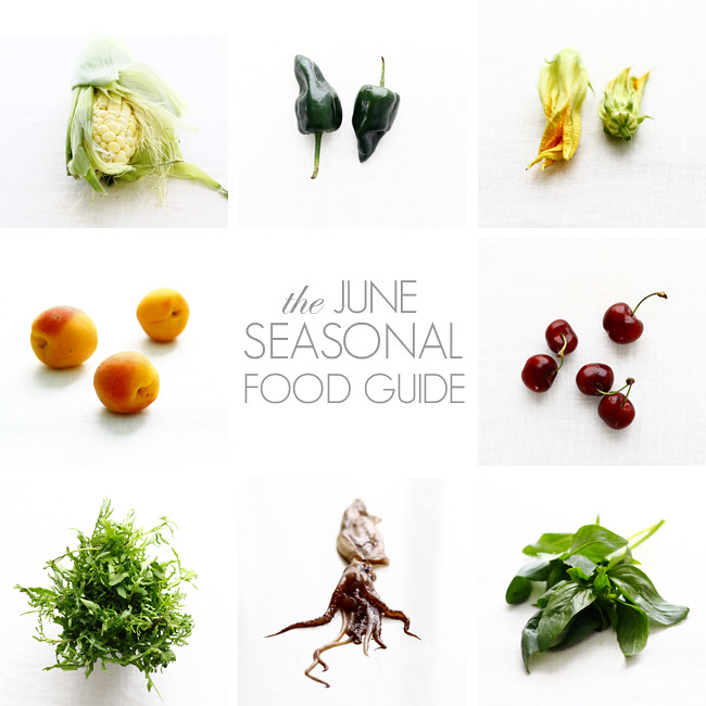 The June Seasonal Food Guide