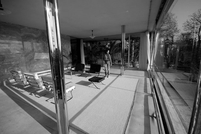Villa Tugendhat - living room