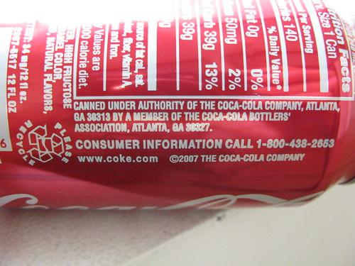 Harry's Coke. From Atlanta!