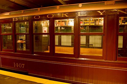 Beautiful 1907 Brooklyn Subway Car (Exterior)