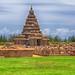Shore Temple. Mamallapuram. VII AD. by Peer.Gynt