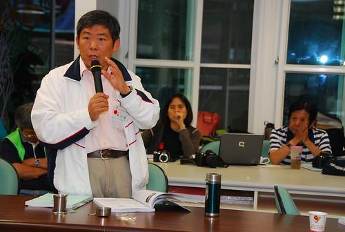 長期在南台灣耕耘環境議題的魯台營,去年縣市選舉後被延攬入屏東縣府擔任環保局長,是首位由民間環運人士擔任地方環保首長。