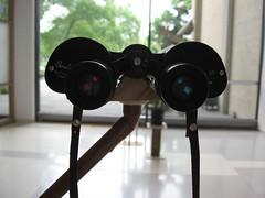 binoculars, optical instrument, light, gadget, black,