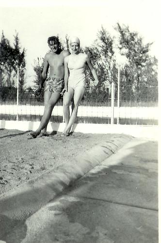 Vintage Teenagers Ardmore, Oklahoma - 1940s