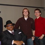 Solomon Burke at WFUV with Russ Borris