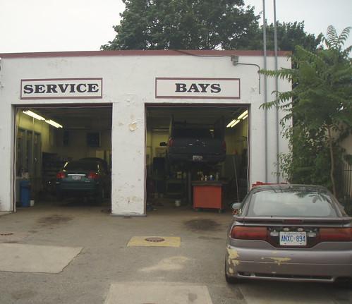 Service Bays