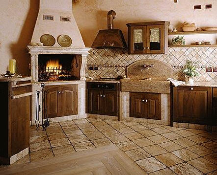French kitchen j explore photos - Cocinas pequenas rusticas ...