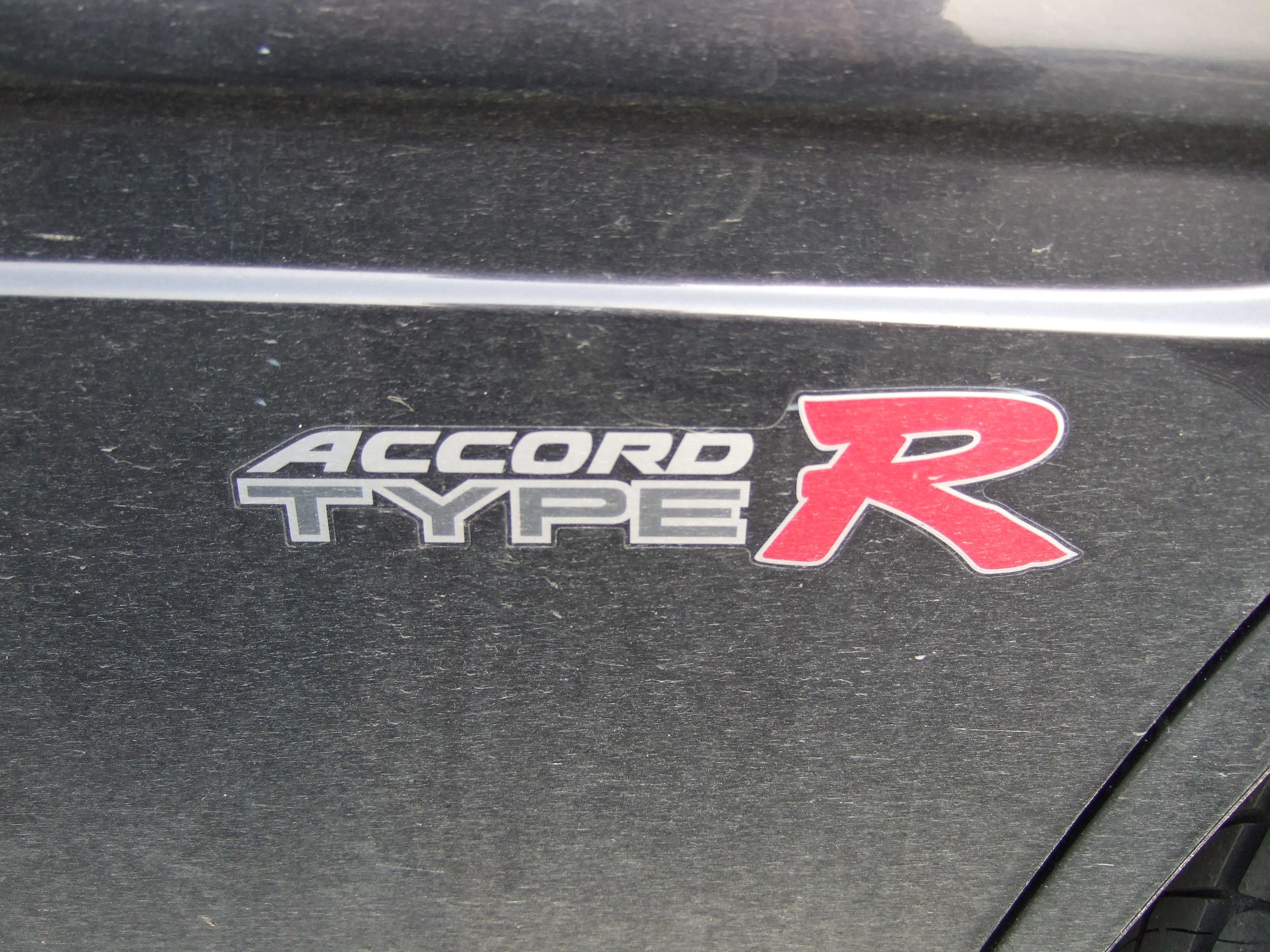 Type R Logo Honda accord type r logo