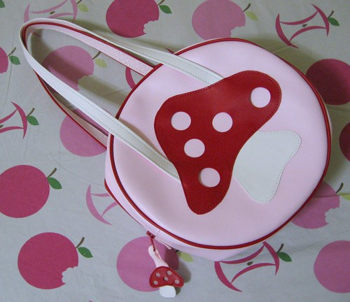 Heart E purse