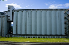 outdoor structure(0.0), storage tank(0.0), fence(0.0), shipping container(0.0), shed(0.0), wall(1.0), silo(1.0), facade(1.0),