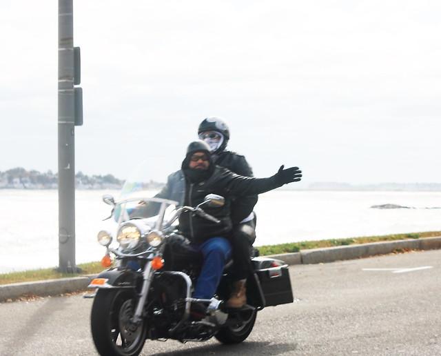 Halloween Ride Boston Harley