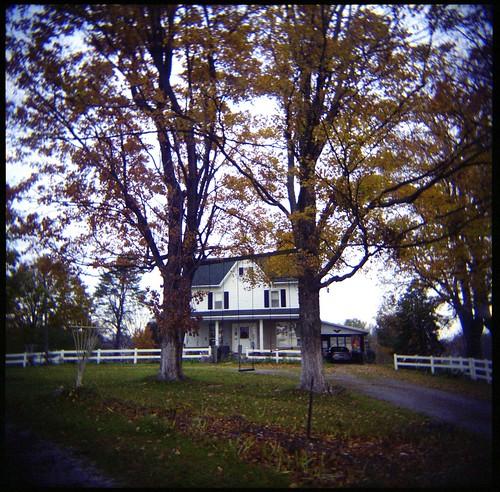 120 film farmhouse analog mediumformat square farm country indiana 120film foliage oldhouse salem analogphotography countryhouse oldhome countryhome salemin salemindiana