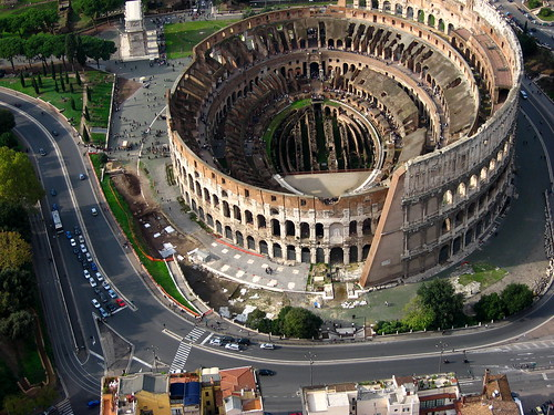 Kite Over Rome - Colosseum