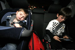 kids in the car on the way home   sequoia was out co…