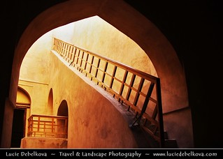 Oman - Rustaq fort and its stunning interiour