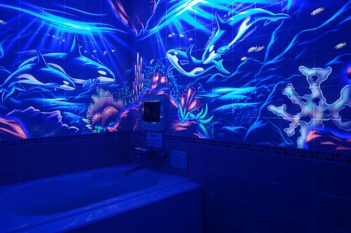 Flickr photo sharing for Blacklight bedroom designs
