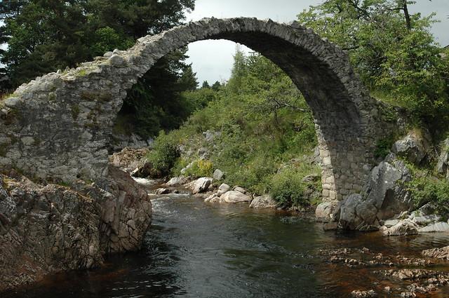 Carrbridge Old Packhorse Bridge
