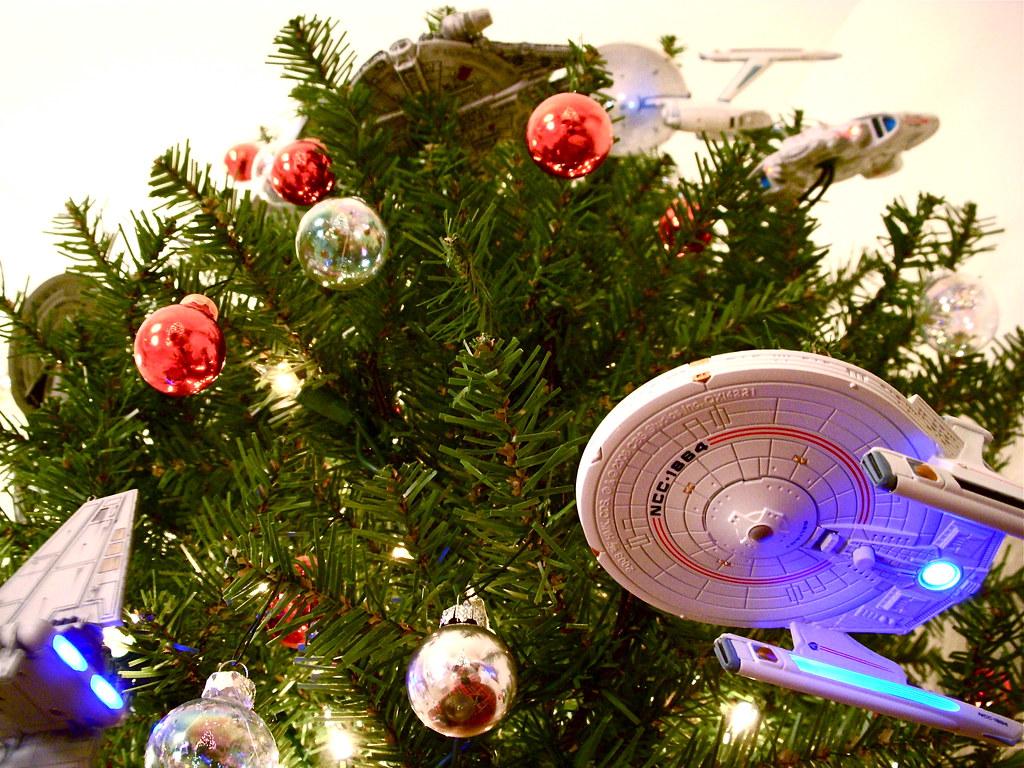 Starship Christmas Tree 8