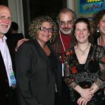 John Platt, Rita Houston, Darren DeVivo, Dar Williams and Janeen Shaitelman at the 2008 Holiday Cheer for 'FUV Concert  Photo by Jeff Fasano