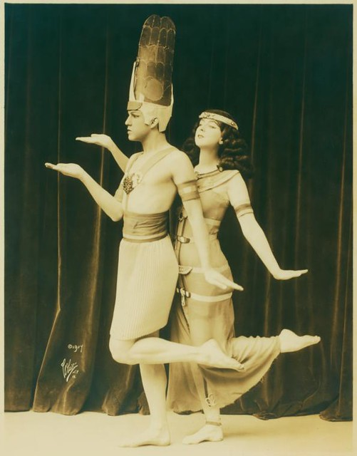 Ruth St Denis and Ted Shawn in the Dance of the Rebirth from...