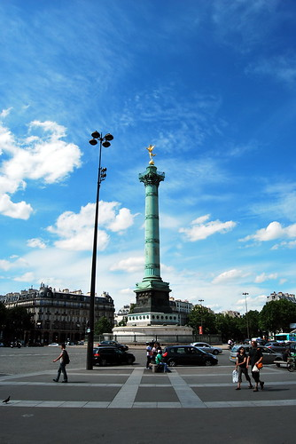 France, Paris - Place de la Bastille