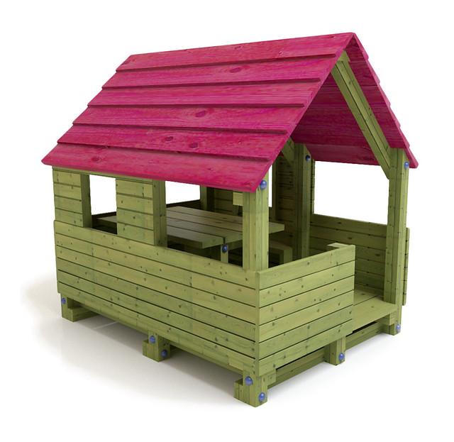 Juego infantil caba a casita heidi de madera flickr for Cabanas infantiles en madera