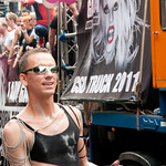Lady Gaga Float at Gay Pride Parade - Berlin, Germany