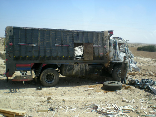 Laâyoune - truck accident 2