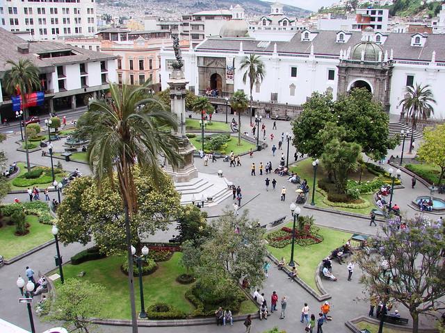 Vista de la Plaza de la Independencia - Independencia Square