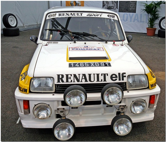 renault 5 maxi turbo rally car a photo on flickriver. Black Bedroom Furniture Sets. Home Design Ideas