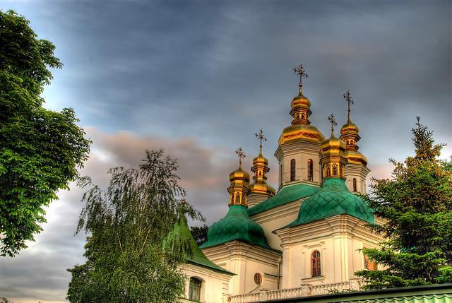 Ukraine, Kiev-Caves monastery.