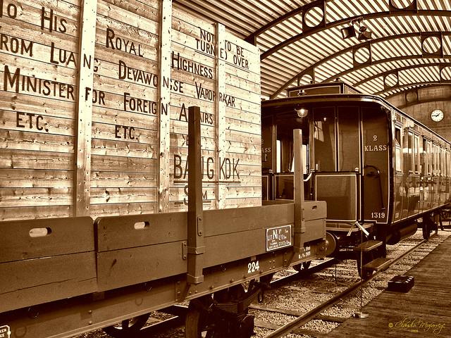 Sodertalje, Sweden 059 - Marcus Wallenberg Hall (Scania Museum) - Swedish State Railways Wagons